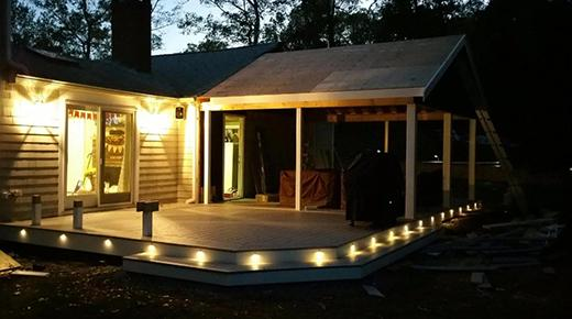 Outdoor Lighting Projects